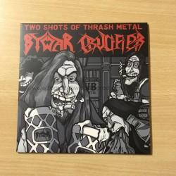 "BYWAR/CRUCIFIER split 7""EP"