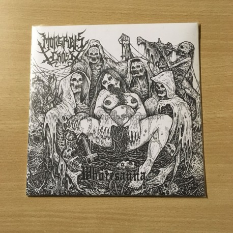 "MONGREL'S CROSS ""Whoresanna"" 7""EP"
