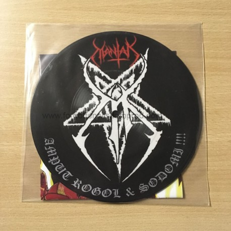 "MANTAK ""Amput Rogol & Sodomi"" pic 7""EP"