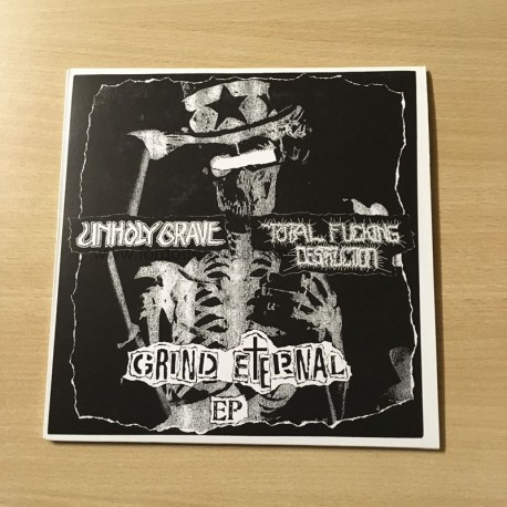UNHOLY GRAVE/TOTAL FUCKING DESTRUCTION (Japan/USA) split EP