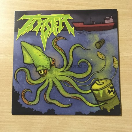 "SACRIFICIAL BLOOD/TRASHER split 7""EP"
