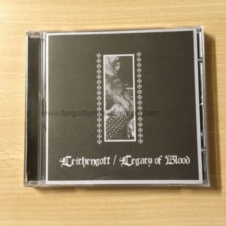 LEICHENGOTT/LEGACY OF BLOOD split CD