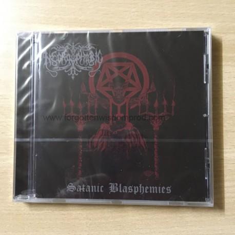 "NECROPHOBIC ""Satanic Blasphemies"" CD"