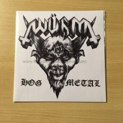 """WÜRM """"Hog Metal"""" 7""""EP"""