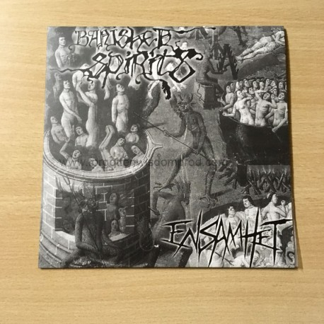 "BANISHED SPIRIT/ENSAMHET split 7""EP"