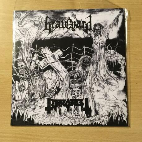 """GRAVEYARD/TERRORIST split 7""""EP"""