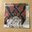 "MENTAL FUNERAL/GENERICHRIST split 7""EP"