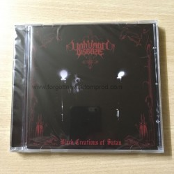 "UNHUMAN DISEASE ""Black Creations of Satan"" CD"