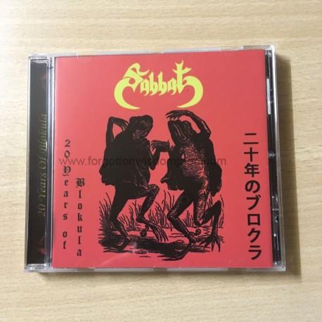 """SABBAT """"20 years of Blokula"""" CD"""
