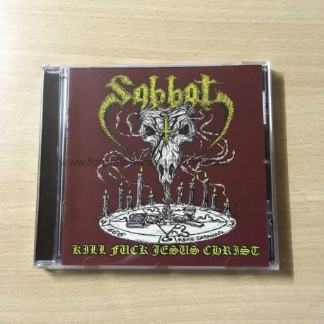 """SABBAT """"Kill Fuck Jesus Christ"""" CD"""