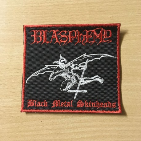 BLASPHEMY Black Metal Skinheads patch