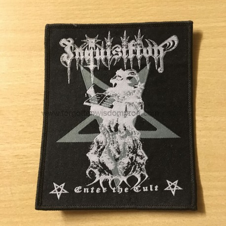 INQUISITION woven patch