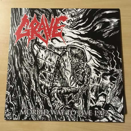 "GRAVE ""Morbid Way to Live 1992"" 12""LP"