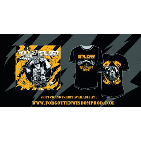 GUERRA TOTAL/METALUCIFER CD + Tshirt