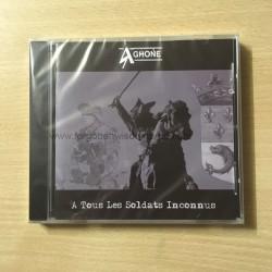 """AGHONE """"A tous les Soldats inconnus"""" CD"""