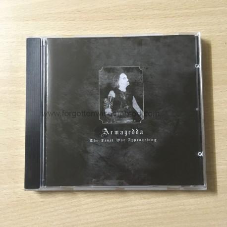 "ARMAGEDDA ""The final War approaching"" CD"