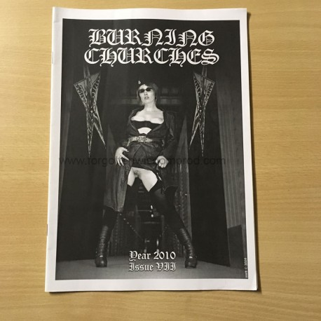 BURNING CHURCHES Zine n°7