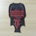 DESTROYER666 shaped patch