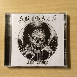 """ABIGAIL """"Live Yakuza"""" CD"""