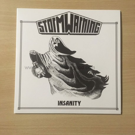 "STORM WARNING ""Insanity"" 7""EP"