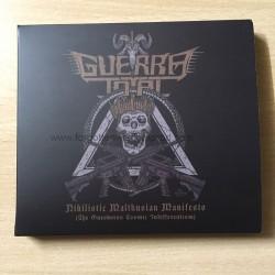 """GUERRA TOTAL """"Nihilistic Malthusian Manifesto"""" slipcase CD"""