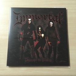 "IMMORTAL ""Damned in Black"" 12""LP"