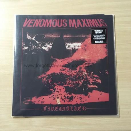 """VENOMOUS MAXIMUS """"Firewalker"""" 12""""LP"""