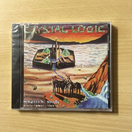 "MANILLA ROAD ""Crystal Logic"" CD"