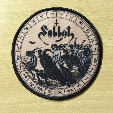 "SABBAT ""Sabbatical Possessitic Hammer"" patch"