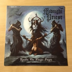 "MIDNIGHT PRIEST ""Rainha da Magia Negra"" 12""LP"