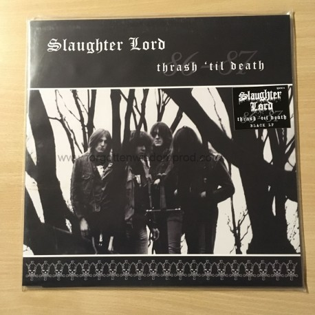 "SLAUGHTER LORD ""Thrash 'Til Death"""