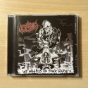 "ANTICHRIST HOOLIGANS ""We will Piss on your Grave"" CD"