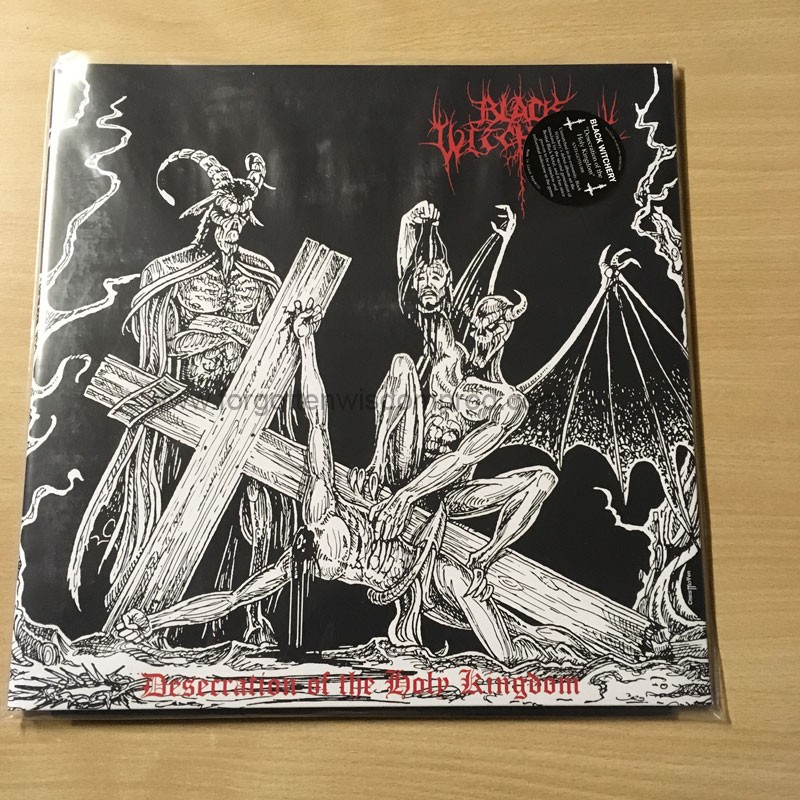 black witchery desecration of the holy kingdom