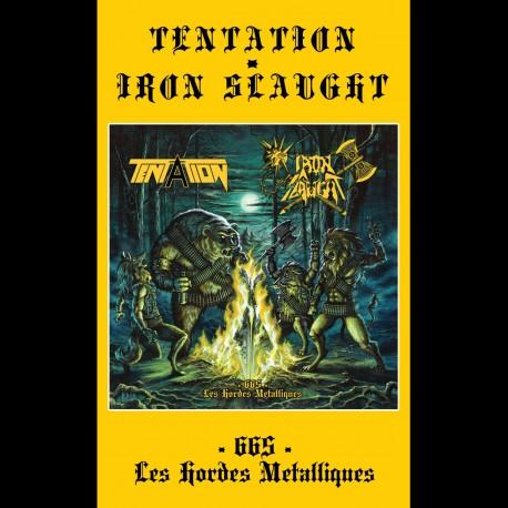 TENTATION/IRON SLAUGHT split pro Tape