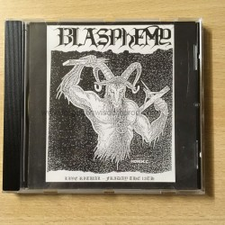 "BLASPHEMY ""Live Ritual - Friday the 13th"" CD"