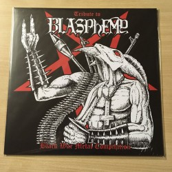 "TRIBUTE TO BLASPHEMY - Black War Metal Compilation 12""LP"