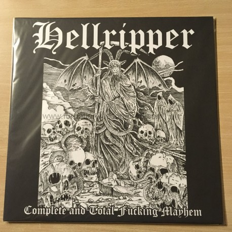 "HELLRIPPER ""Complete and Total Fucking Mayhem"" 12""LP"
