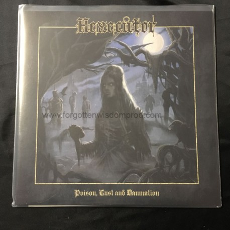 "HEXECUTOR ""Poison, Lust and Damnation"" 12""LP"