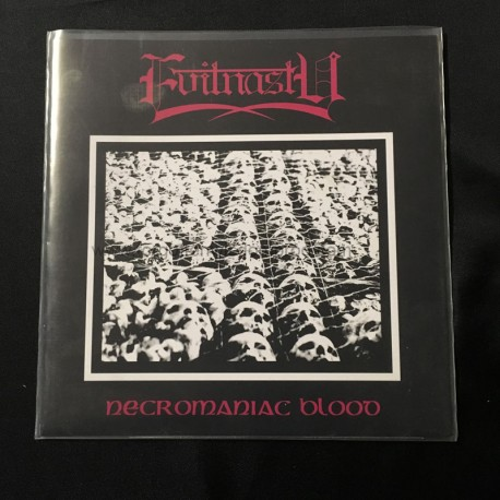 "EVILNASTY (Italy) ""Necromaniac Blood"" CD"