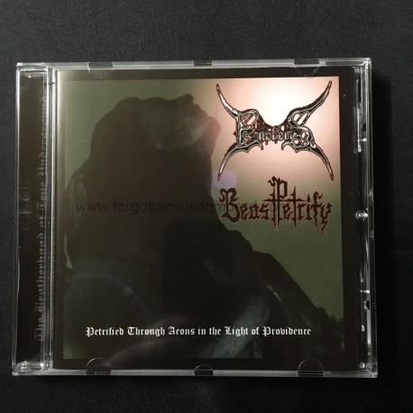 EMPHERIS/BEAST PETRIFY split CD