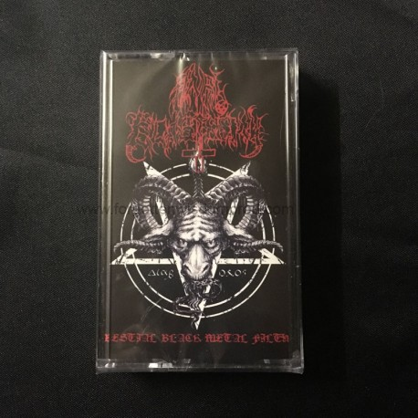 "ANAL BLASPHEMY ""Bestial Black Metal Filth"" Pro Tape"