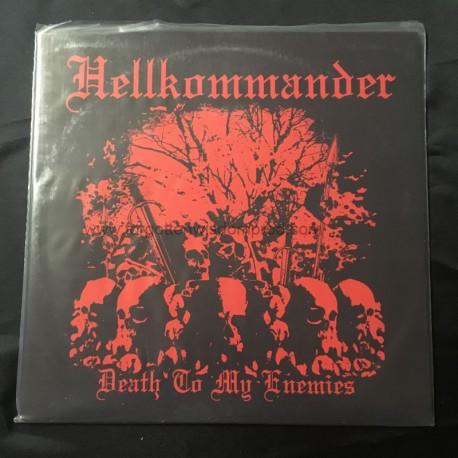 """HELLKOMMANDER """"Death to my Enemies"""" 12""""LP"""