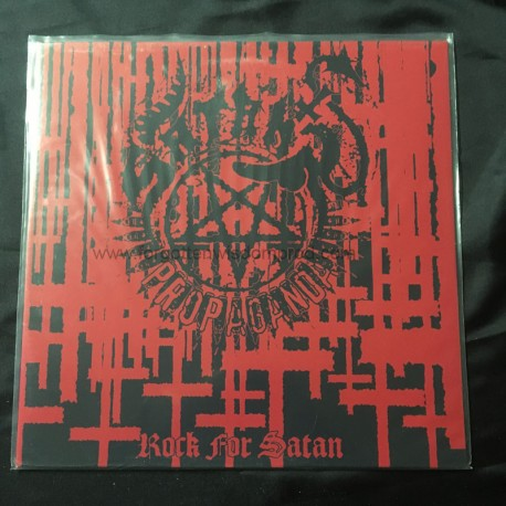 "SATAN'S PROPAGANDA ""Rock for Satan"" 12""LP"