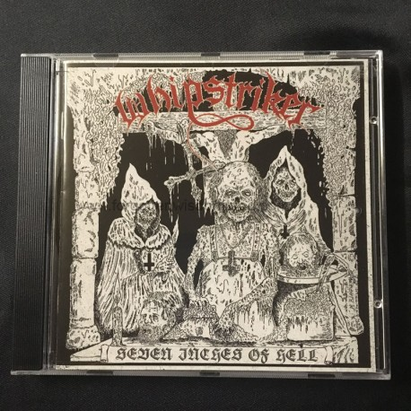 "WHIPSTRIKER ""Seven Inches of Hell"" CD"