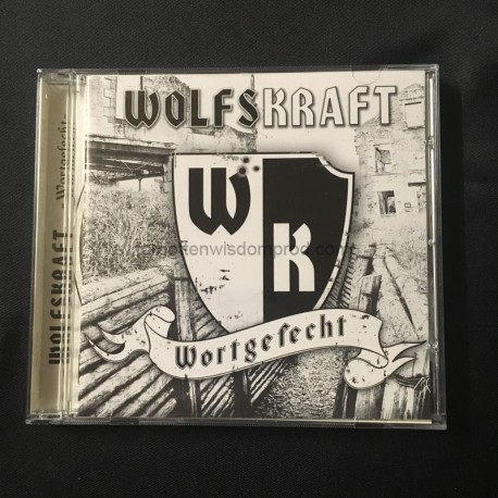 "WOLFSKRAFT ""Wortgefecht"" CD"