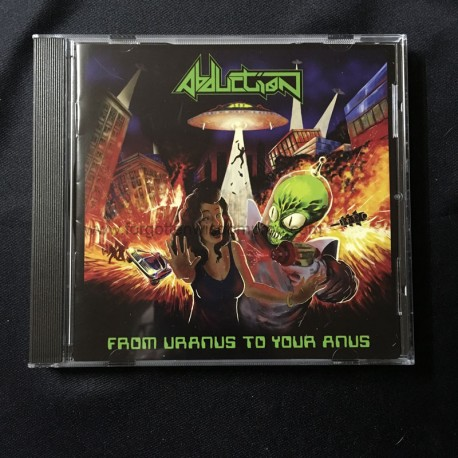 "ABDUCTION ""From Uranus to your Anus"" CD"
