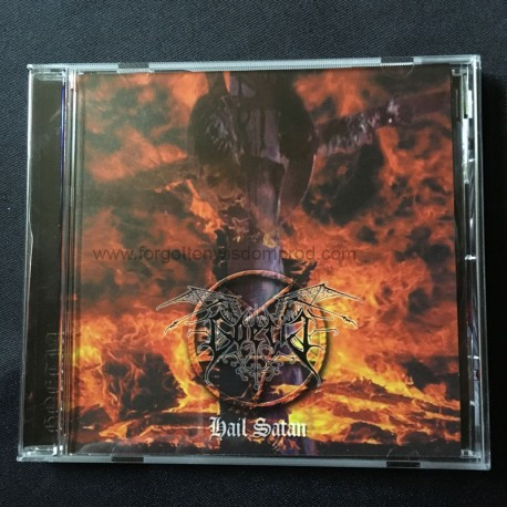 """GOETIA """"Hail Satan"""" CD"""