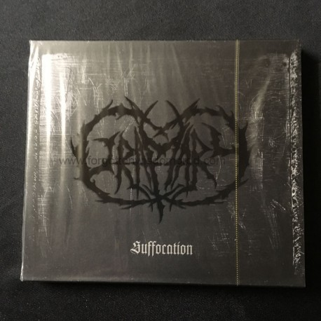 "GRAMARY ""Suffocation"" slipcase CD"