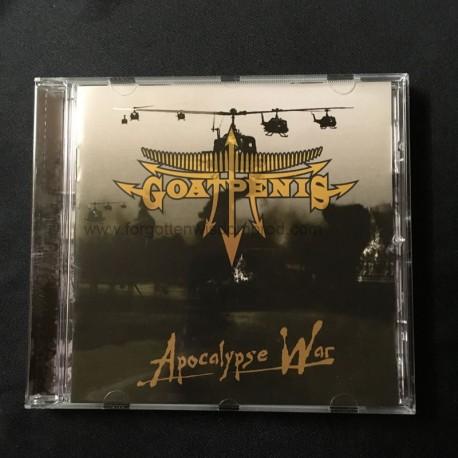 "GOATPENIS ""Apocalypse War"" CD"