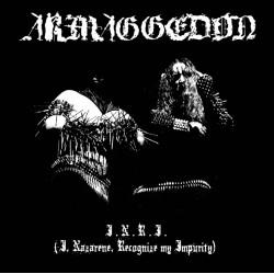 """ARMAGGEDON """"I.N.R.I."""" Digipack CD"""